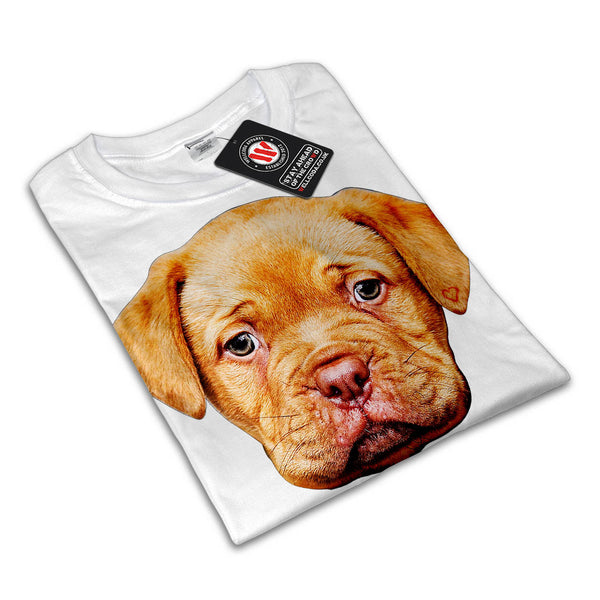 Puppy Dog Sad Face Womens T-Shirt