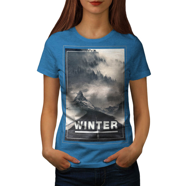 Cold Winter Beauty Womens T-Shirt