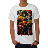 Fish World Style Mens T-Shirt
