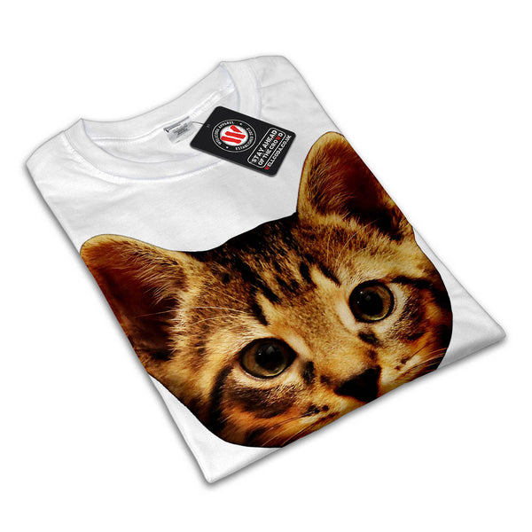 Lovely Kitten Eye Womens T-Shirt