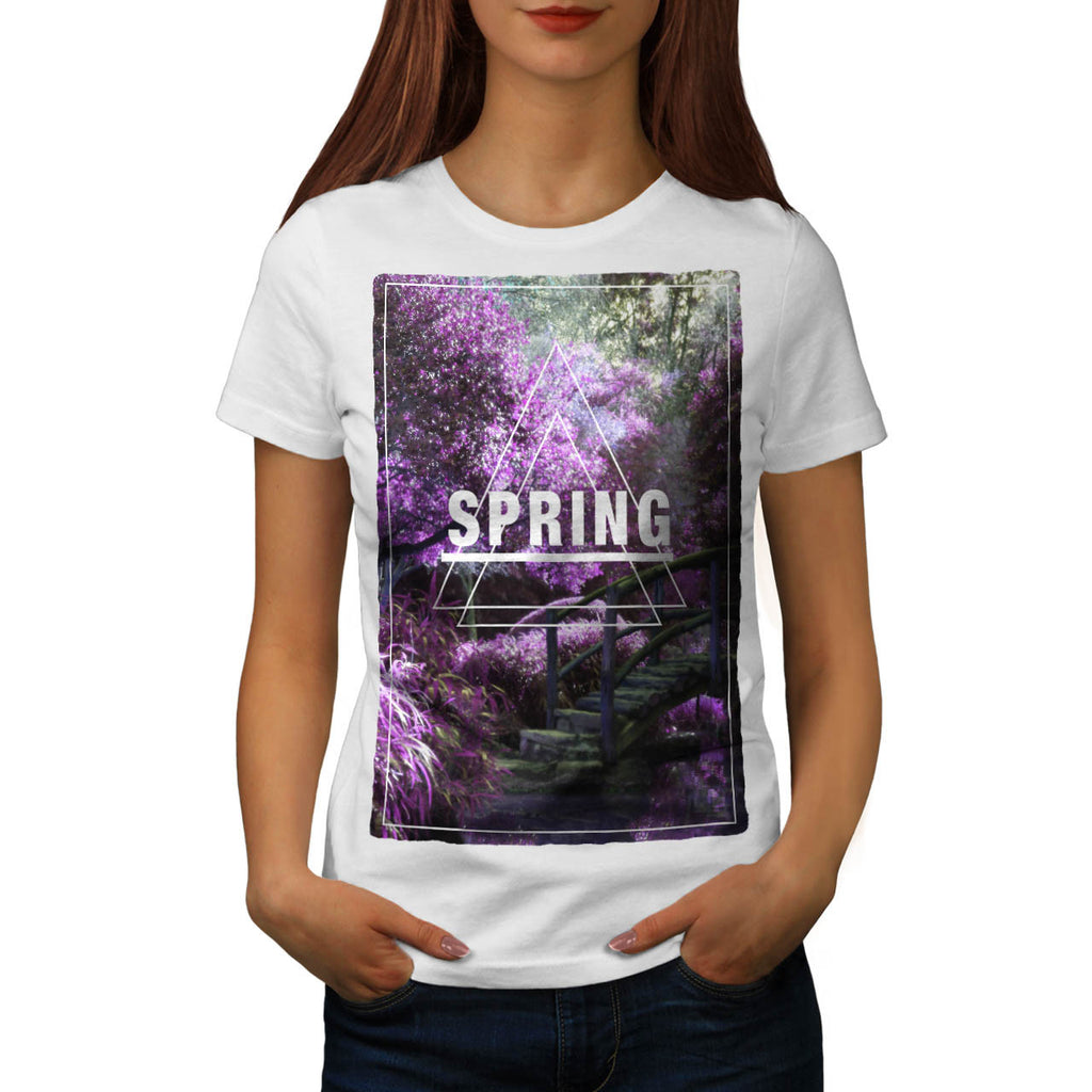Spring Time Prism Womens T-Shirt
