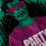 Zombie Monster Party Womens T-Shirt