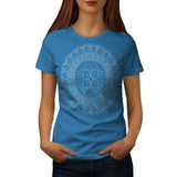 Indian Style Pattern Womens T-Shirt