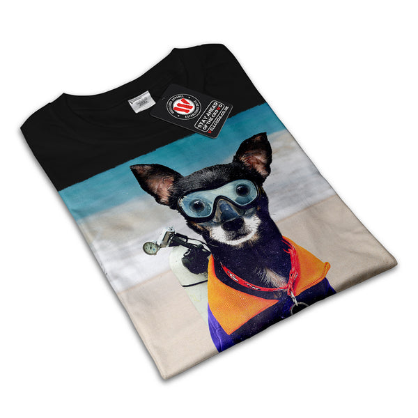 Sea Dog Dive Style Womens T-Shirt