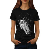 Space Music Galaxy Womens T-Shirt