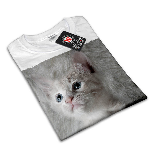 Pet Pussy Cat Look Womens T-Shirt