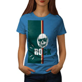Skull Head Rock Grim Womens T-Shirt