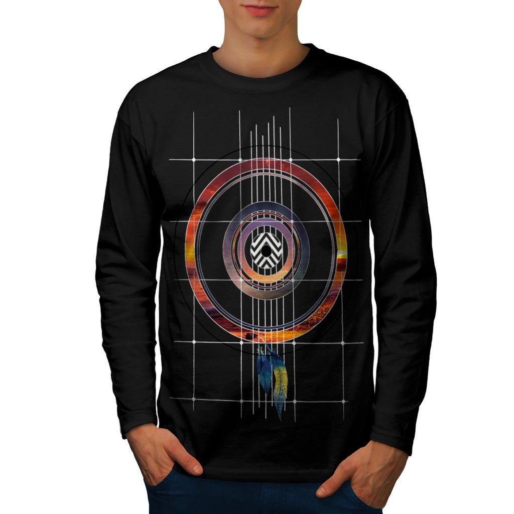 Style Music Record Mens Long Sleeve T-Shirt