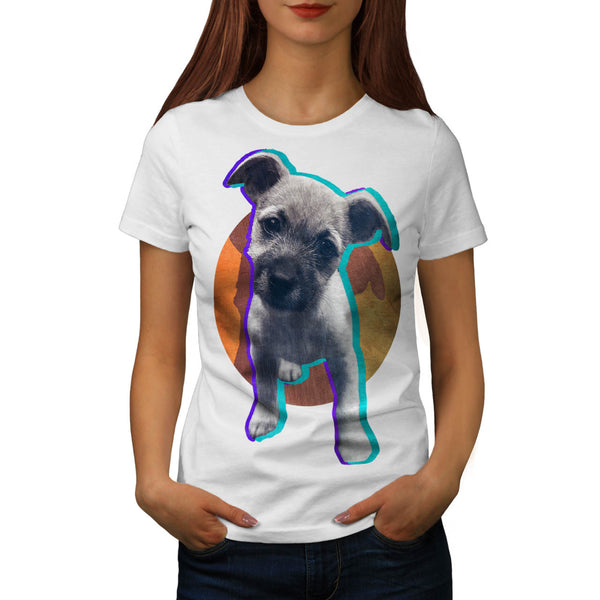 Jeans Pet Dog Buddy Womens T-Shirt
