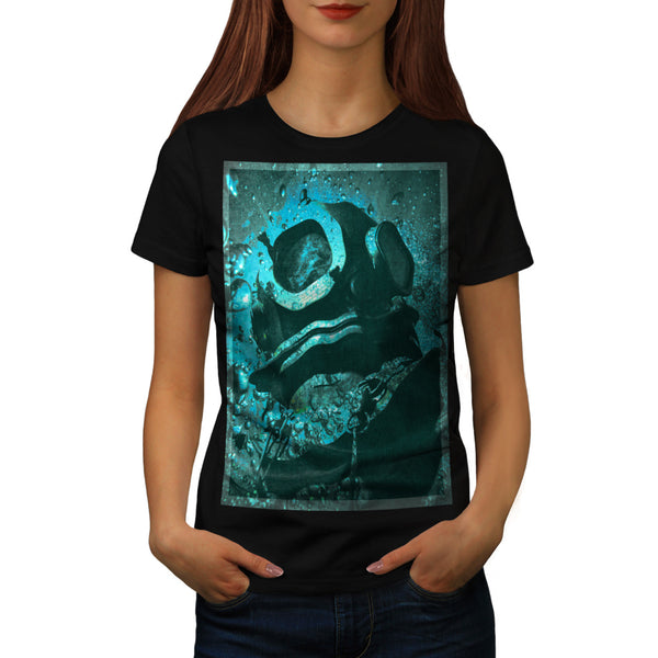 Sunken Diving Bell Womens T-Shirt