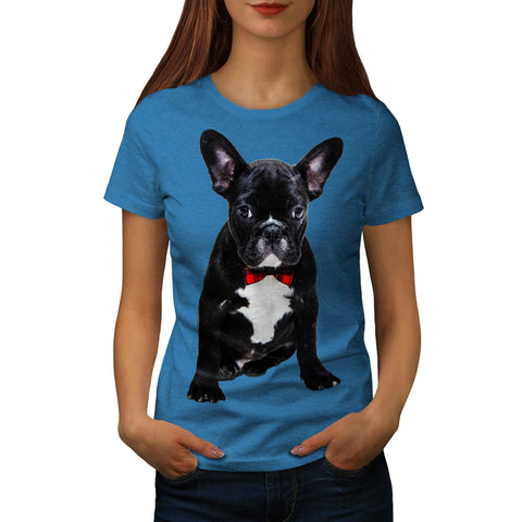 Fancy French Bulldog Womens T-Shirt