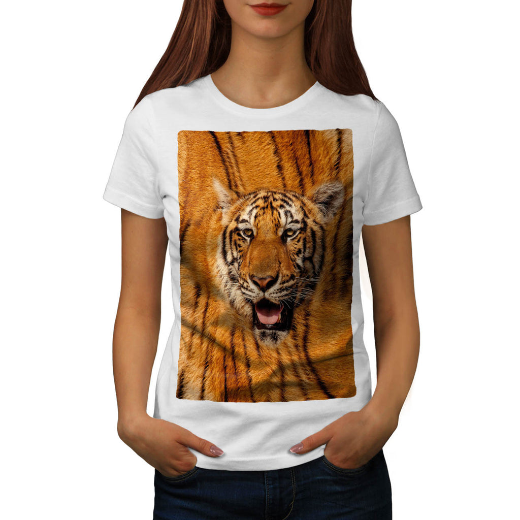 Bengal Tiger Face Womens T-Shirt