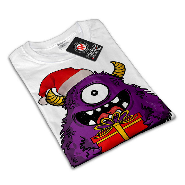 Christmas Monster Womens T-Shirt