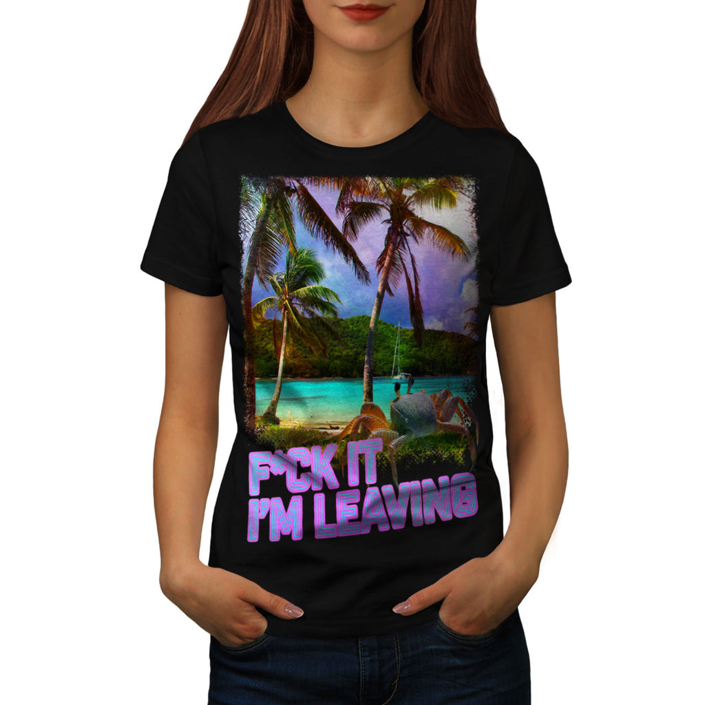Holiday Dream Island Womens T-Shirt