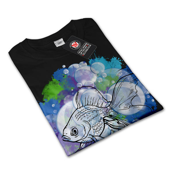 Fish Animal Nature Mens Long Sleeve T-Shirt
