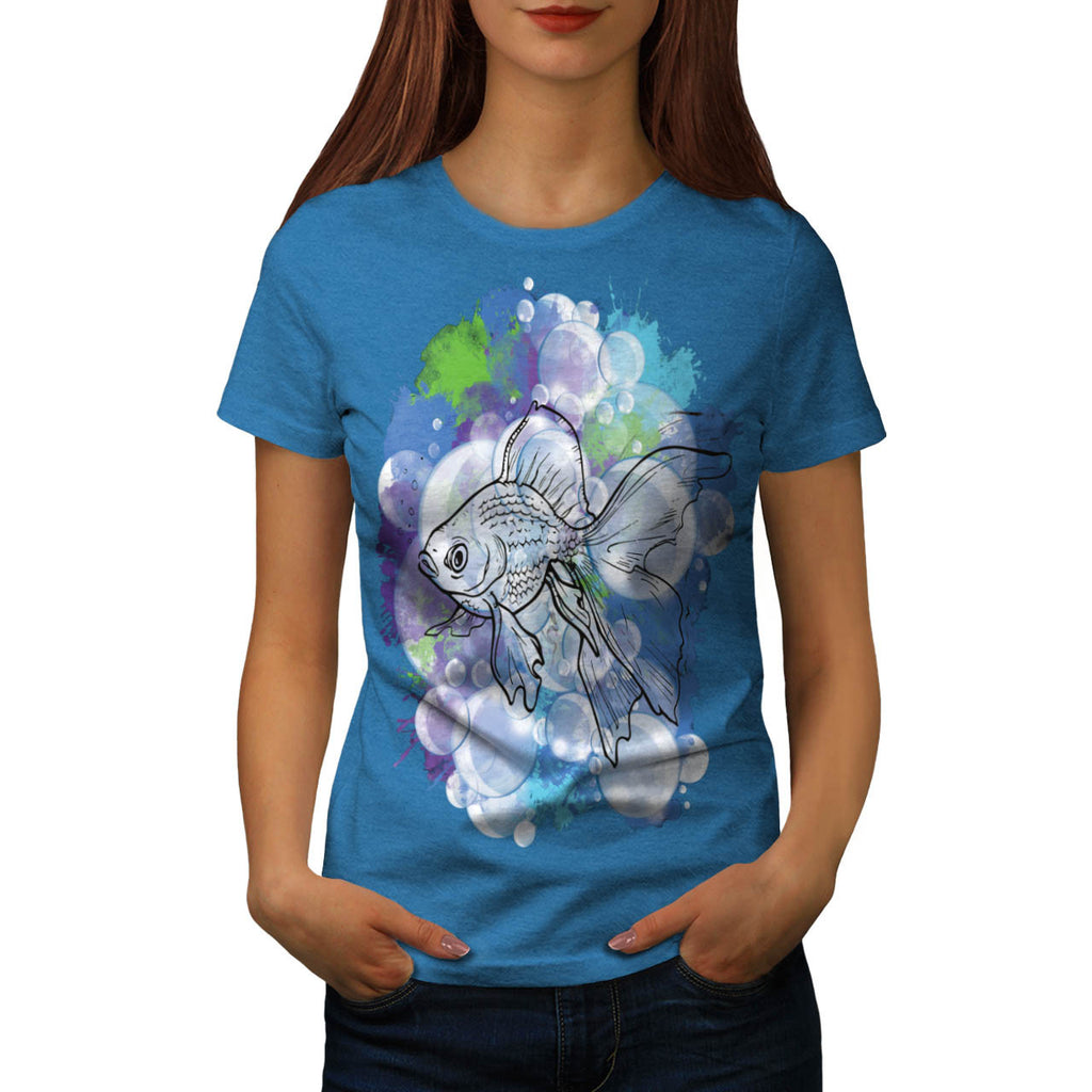 Fish Animal Nature Womens T-Shirt