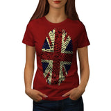 British Fingerprint Womens T-Shirt