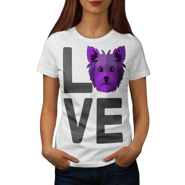 Yorkshire Doggy Love Womens T-Shirt