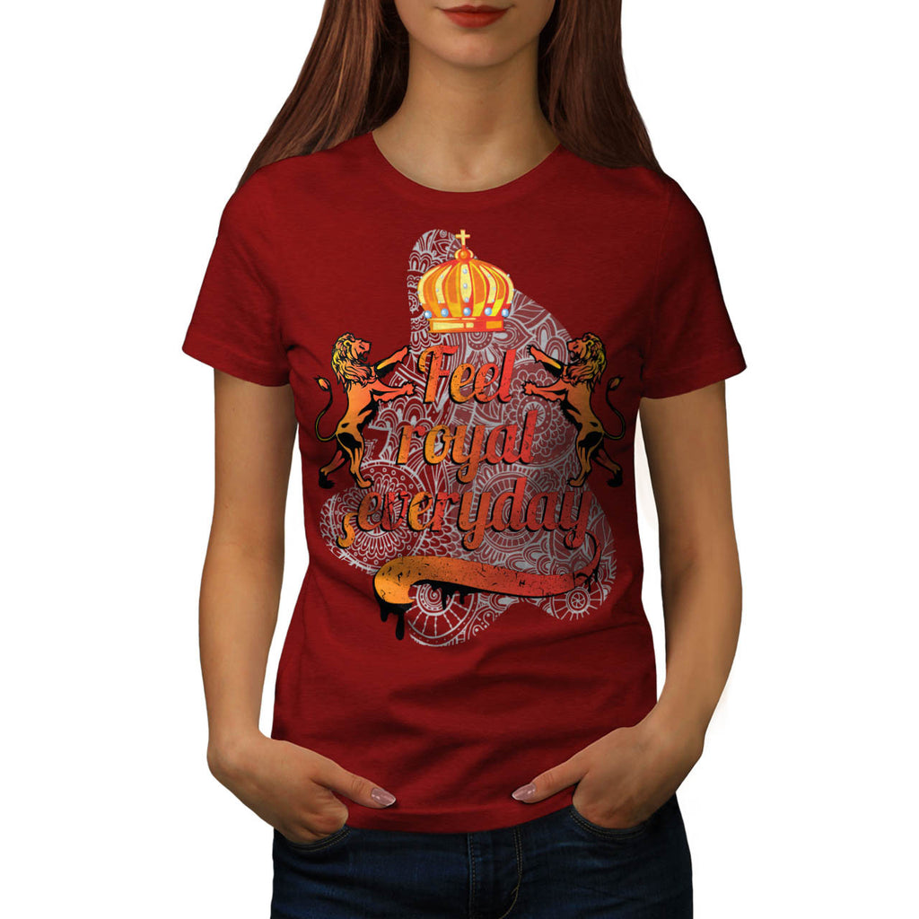 Feel Royal Everyday Womens T-Shirt