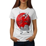 Japan Samurai Art Womens T-Shirt