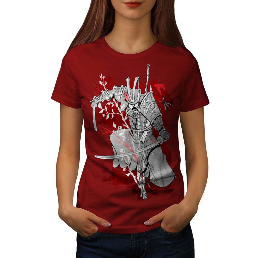 Samurai Honor Code Womens T-Shirt