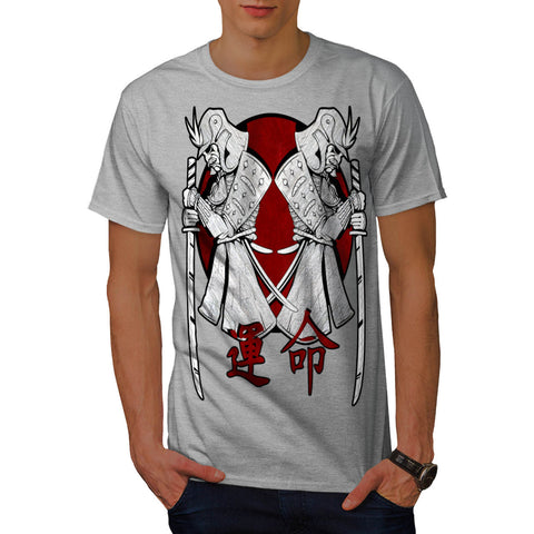 Japan Warrior Art Mens T-Shirt