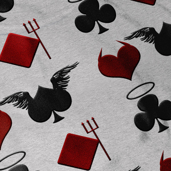 Playing Card Theme Womens T-Shirt