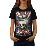 Skull Queen England Womens T-Shirt