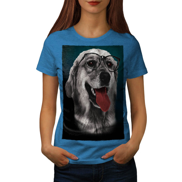 Smart Retriever Dog Womens T-Shirt