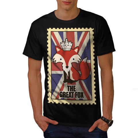 Great Britain Fox Mens T-Shirt