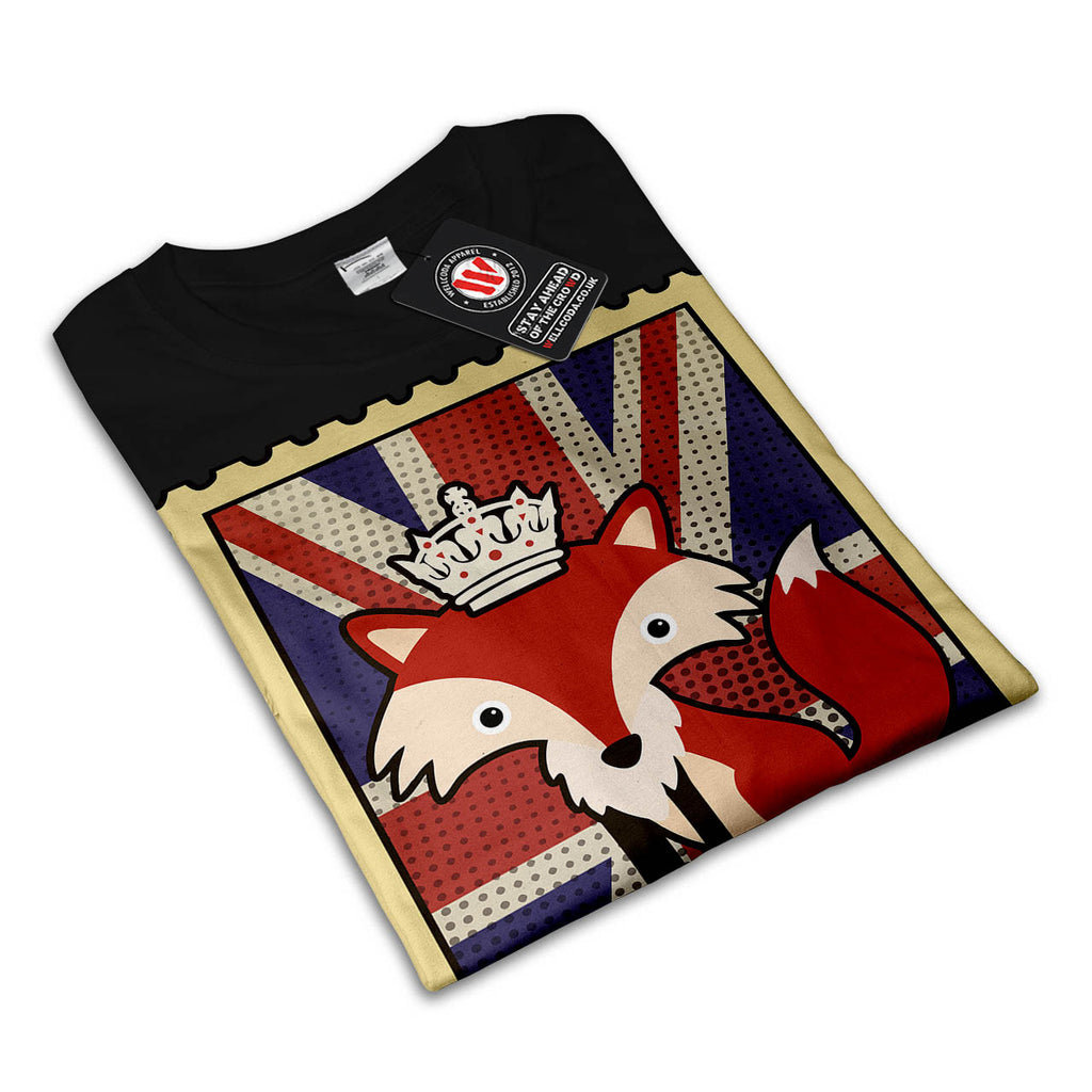 Great Britain Fox Womens T-Shirt