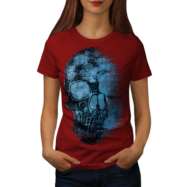 Skull Concert Art Womens T-Shirt
