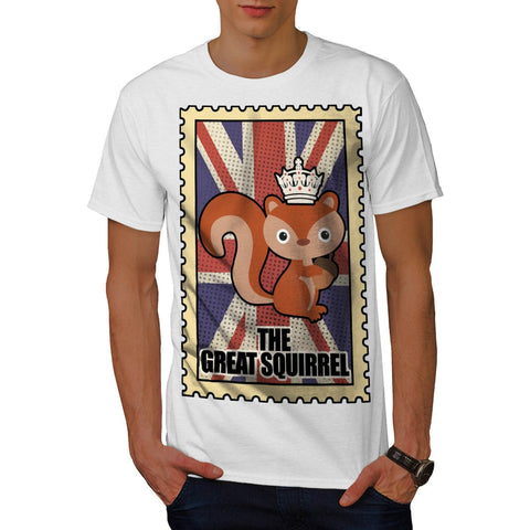 Animal Squirrel GB Mens T-Shirt