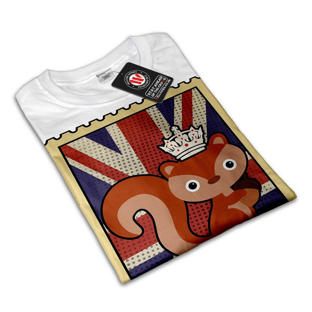 Animal Squirrel GB Womens T-Shirt