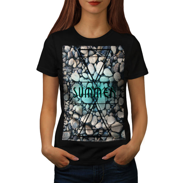 Playing Card Win Womens T-Shirt