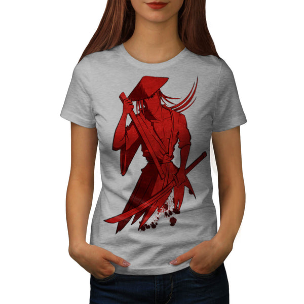 Merciless Samurai Womens T-Shirt