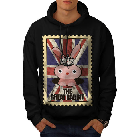 Animal Great Rabbit Mens Hoodie