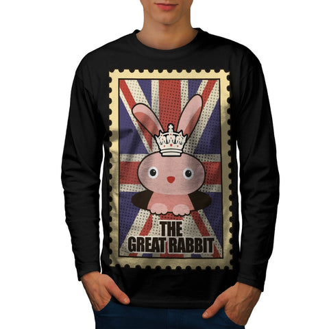 Animal Great Rabbit Mens Long Sleeve T-Shirt