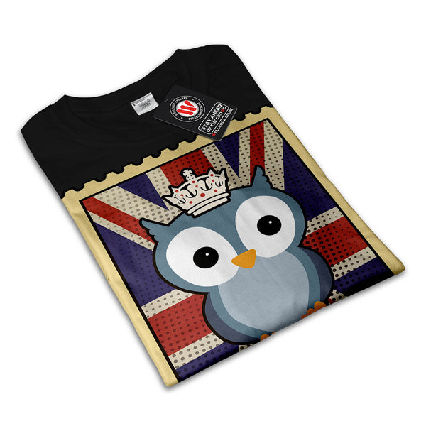 Great Owl King Animal Womens T-Shirt