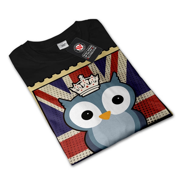 Great Owl King Animal Womens Long Sleeve T-Shirt