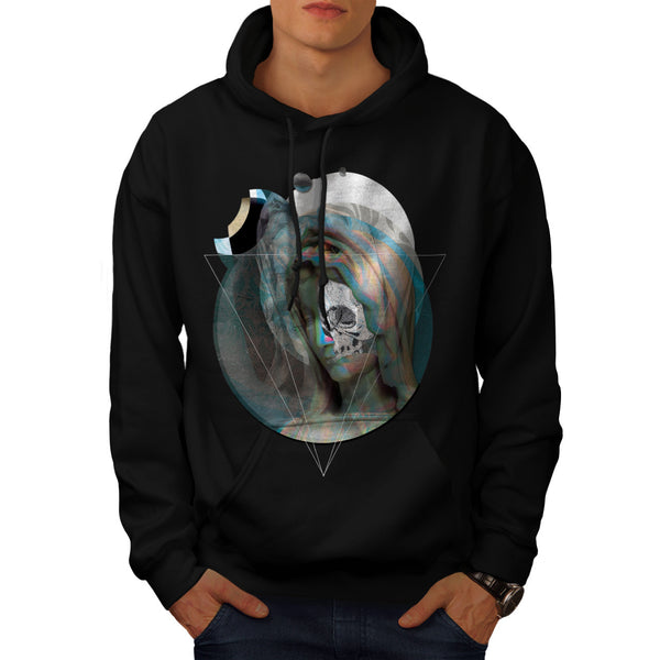Virgin Mary Sculpture Mens Hoodie