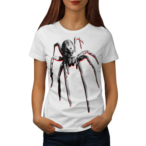 Sky Spider Fly Fun Womens T-Shirt