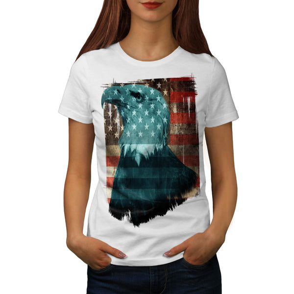 American Eagle Pride Womens T-Shirt