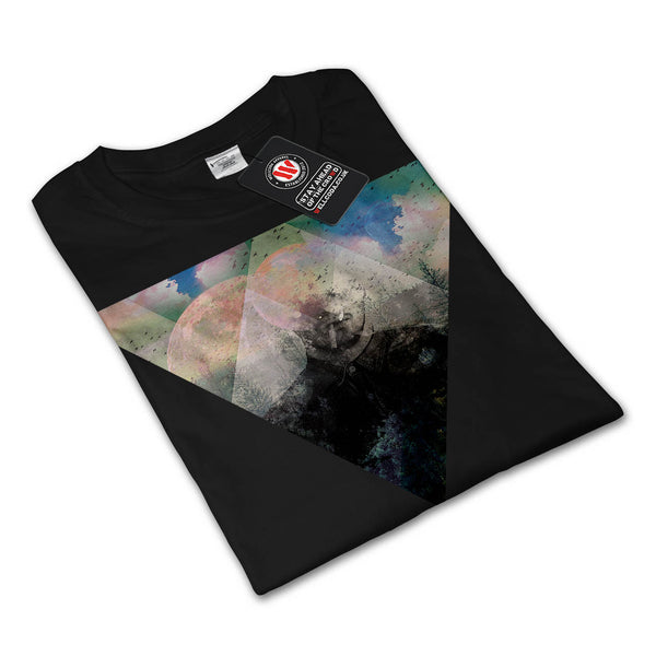 Hipster Nature Cosmos Womens Long Sleeve T-Shirt