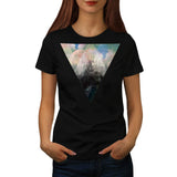 Hipster Nature Cosmos Womens T-Shirt