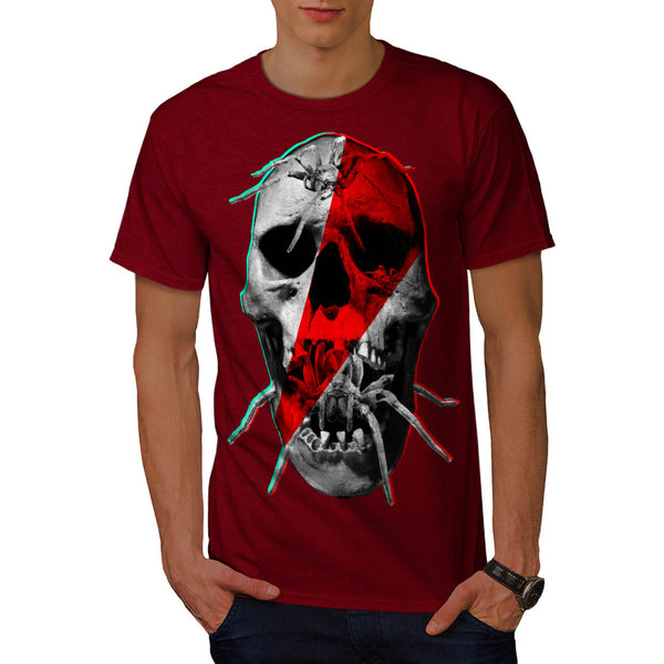 Skull Horror Zombie Mens T-Shirt