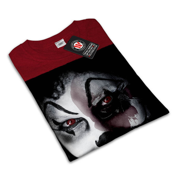 Halloween Clown Face Mens T-Shirt