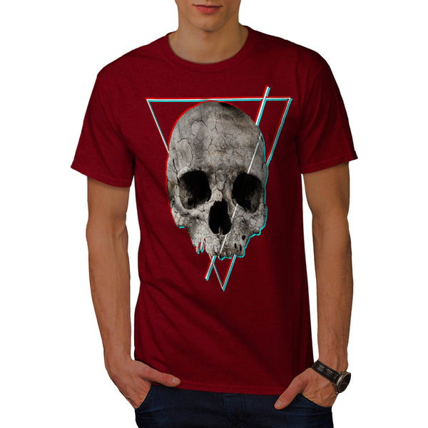 Skull Head Devil Eye Mens T-Shirt
