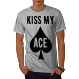 Cheeky Card Player Mens T-Shirt