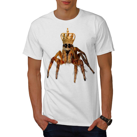 Emperor Spider Crown Mens T-Shirt